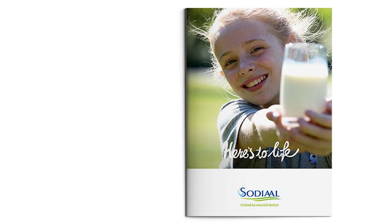 Sodiaal global brand story & corporate positioning - brand movie and creative brand communications