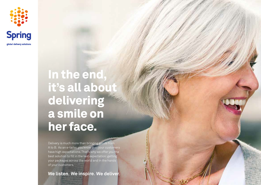 Spring - Global awareness campaign for rebranding & positioning