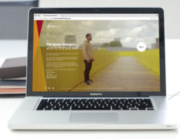 SD Worx - International Employer Branding Strategy & Campaign webdesign