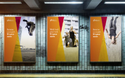 SD Worx - International Employer Branding Strategy & Campaign billboards