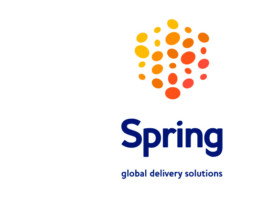 Spring global rebranding, brand positioning, visual identity, logo, brand story, baseline and brand marketing platform