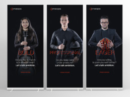 new Cheops Employer Brand strategy, brand story, creative employer recruiting campaign and internal employee communications