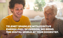 Telenet Corporate Brand Story - a meaningful human corporate brand